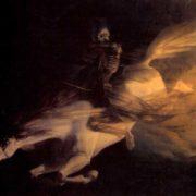 Édouard Ravel de Malval Death on a Pale Horse La Mort sur un cheval pâle