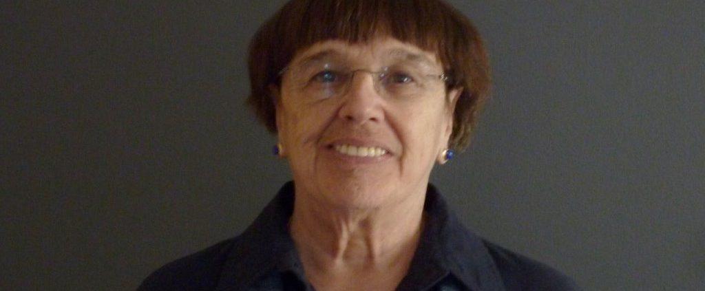 La poétesse Louise Cotnoir